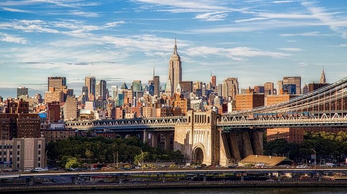 Современный Нью-Йорк. | Фото: niceimage.ru.