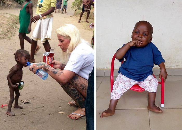 Чудесное преображение 2-летнего малыша.