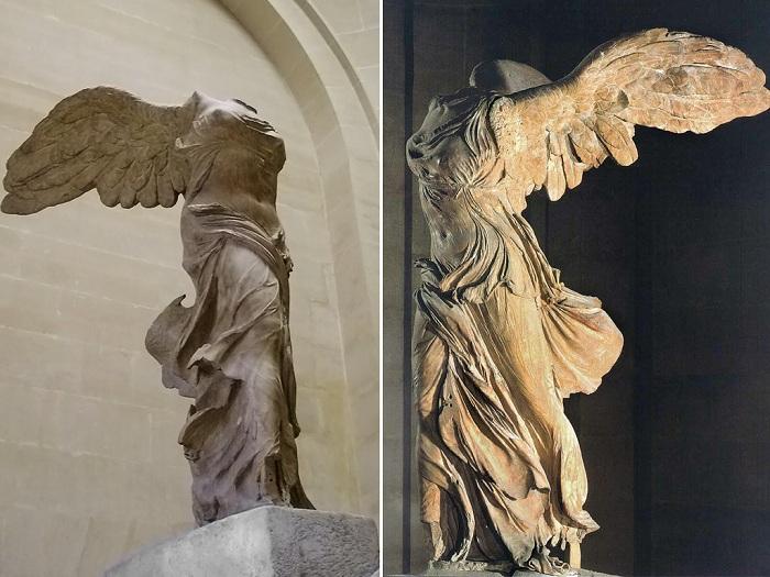 Статуя Ники Самофракийской. Лувр. | Фото: michel.hiblogger.net.