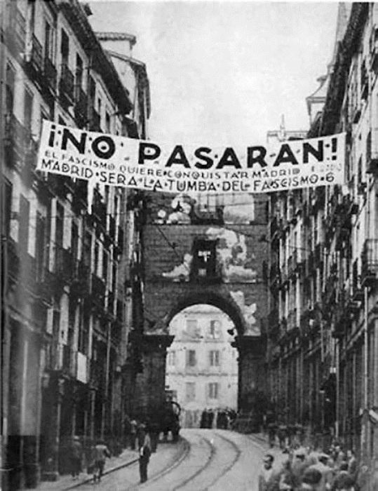 No pasaran! - боевой клич. | Фото: cs8.pikabu.ru.
