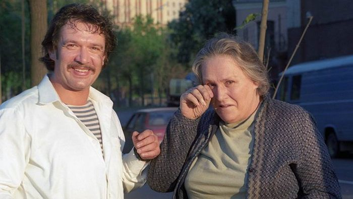 Владимир Машков и Нонна Мордюкова. | Фото: shnyagi.net.