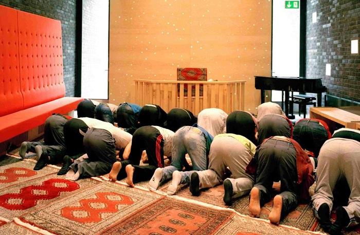 Комната для мусульманских молитв.