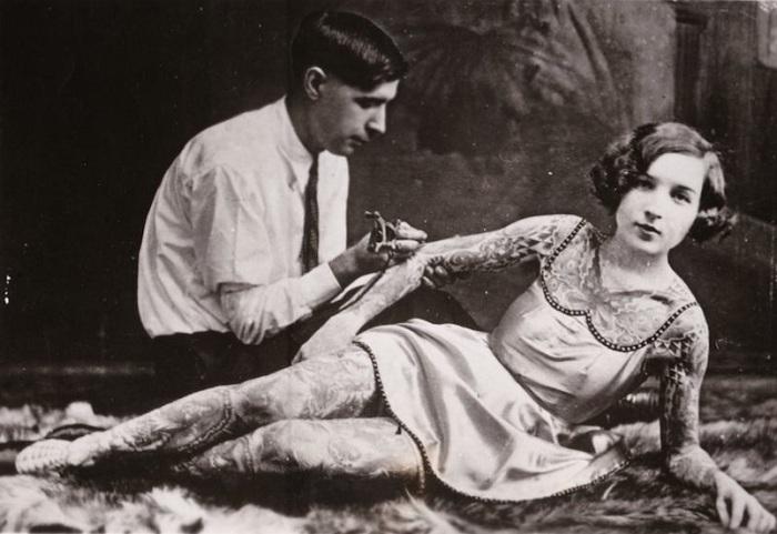 Татуировка конца 19 века.