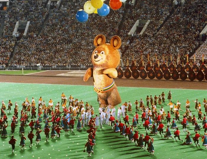 Олимпийские игры в Москве 1980 года. | Фото: slavyanskaya-kultura.ru.