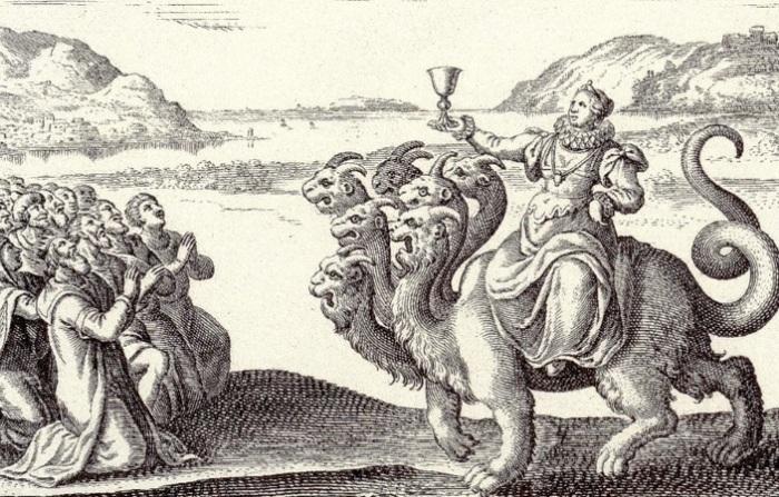 Одно из Средневековых сюжетов о папессе Иоанне.