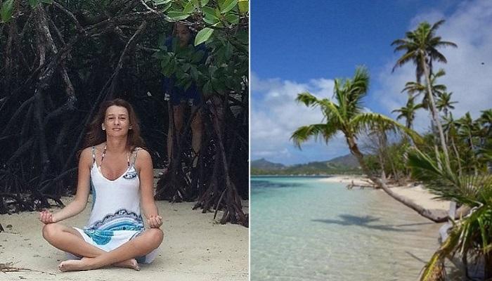Пермячка купила остров на Фиджи.