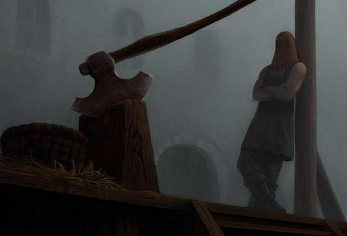 Палач - исполнитель смертной казни в прошлые века. | Фото: stihi.su.