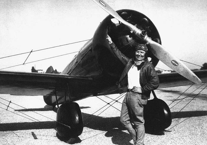 Панчо Барнс - летчица «Золотого Века авиации». | Фото: messynessychic.com.