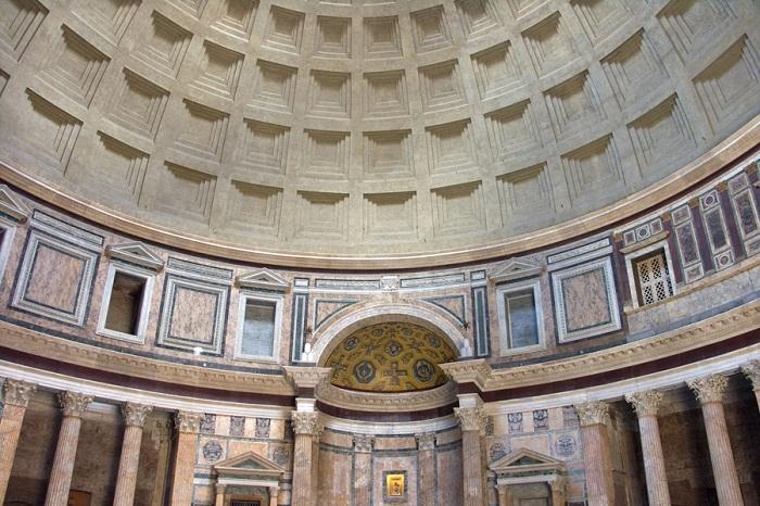 Пантеон в Риме. | Фото: trendymen.ru.