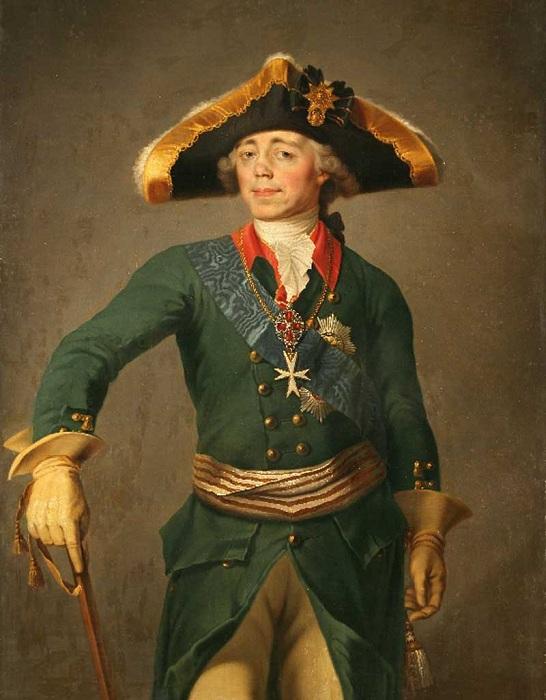 Российский император Павел I. | Фото: dailyherofor.me.