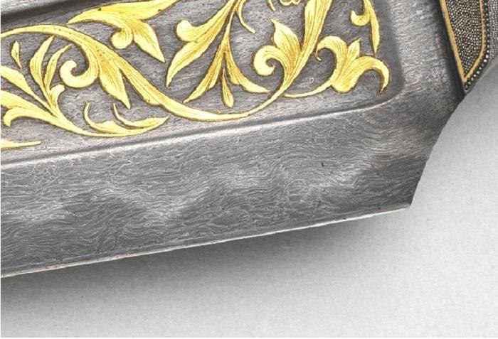 Рисунок дамасской стали. | Фото: softmixer.com.