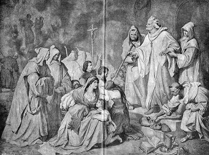 Великий инквизитор Педро де Арбуэс осуждает на смерть семейство еретика. | Фото: s-t-o-l.com.