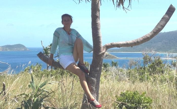 Жительница Перми Виола Новоселова арендовала остров в Тихом океане на 99 лет. | Фото: v-kurse.ru.