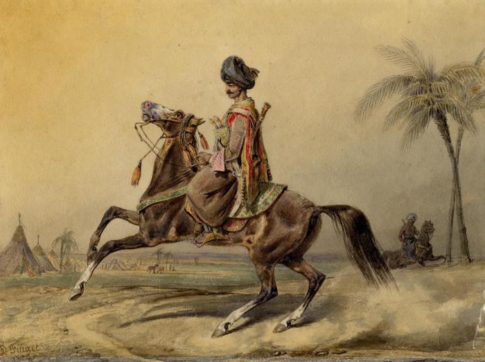 Мамлюк. Финард Давид Ноэль Дьедонне, 1829 г. | Фото: museum.ru.