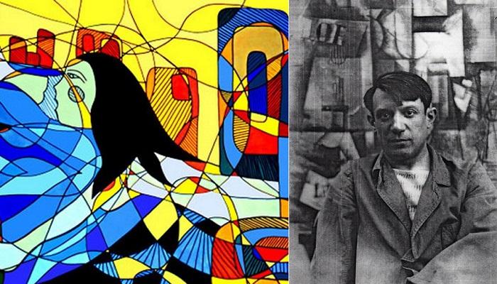 Испанский художник Пабло Пикассо.