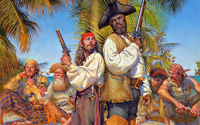 Пираты были суеверными людьми. | Фото: alloads.ru.
