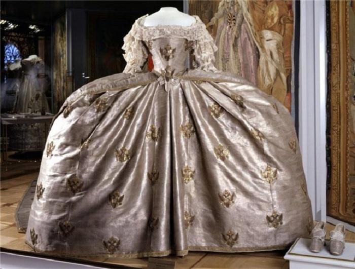 Платья императрицы екатерины
