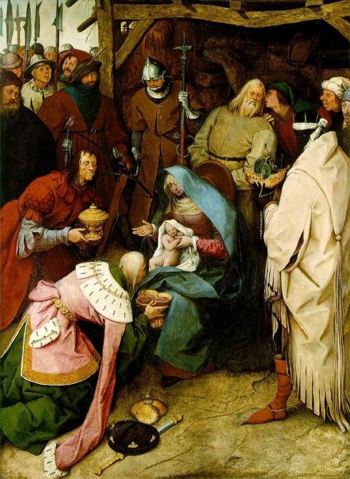 Поклонение волхвов. Питер Брейгель Старший, 1564 год. | Фото: cirota.ru.