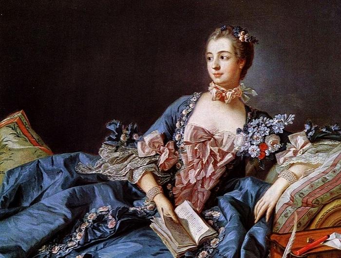Маркиза де Помпадур. Франсуа Буше, 1758 г. | Фото: astiletto.ru.