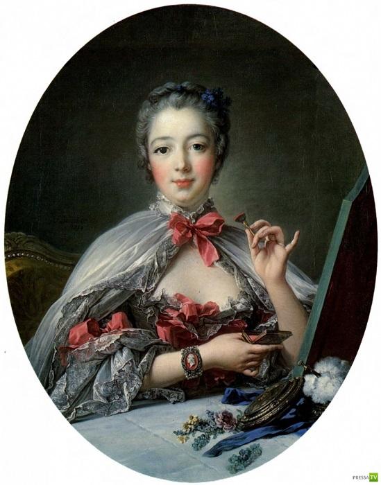 Фаворитка Людовика XV маркиза де Помпадур. | Фото: pressa.tv.