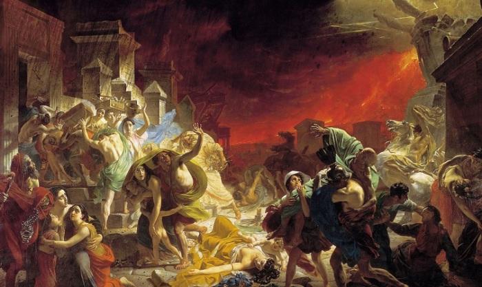 Последний день Помпеи. К. Брюллов, 1830-1833 гг. | Фото: journal-files7.foto.ua.