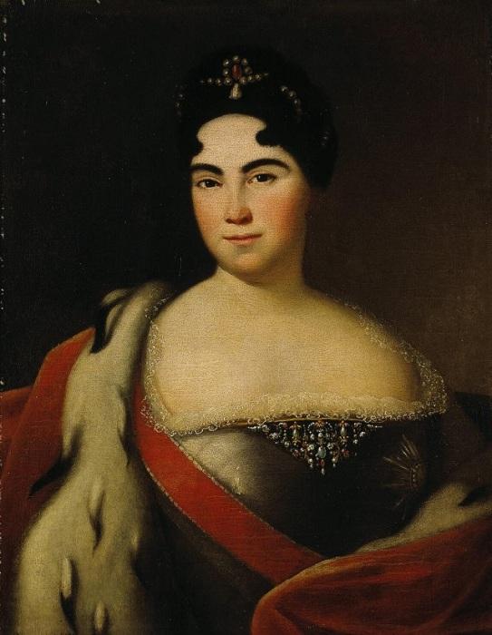 Екатерина I - первая российская императрица. | Фото: vidania.ru.