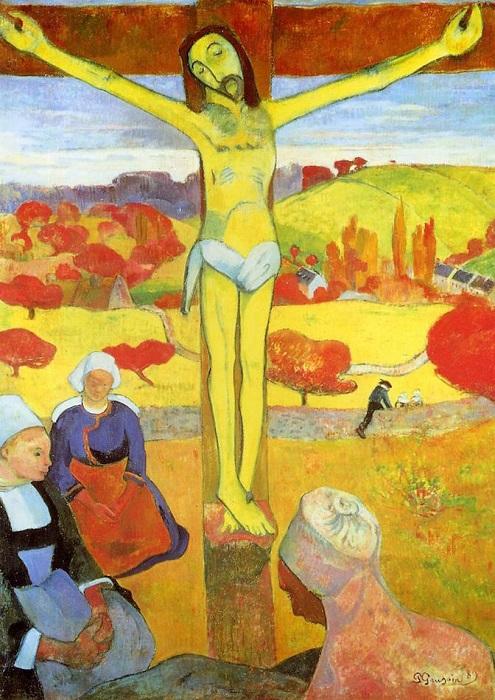Желтый Христос. Поль Гоген, 1889 год. | Фото: mymodernmet.com.