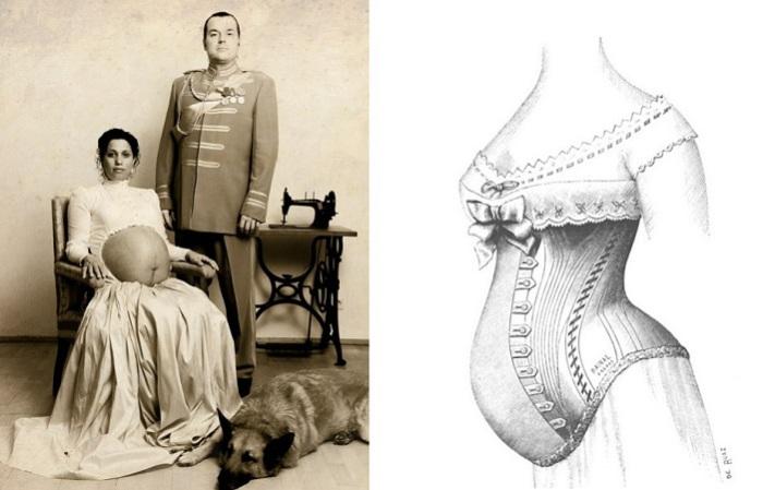 Странные предписания, которые выполняли женщины в положении 150 лет назад.