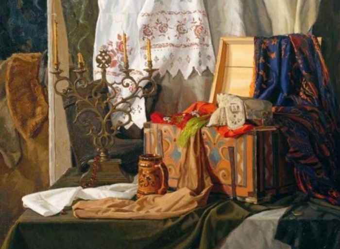 Бабушкин сундук. В. В. Маторин. | Фото: colors.life.