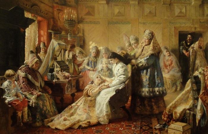 В старину невесте при замужестве давали приданое. | Фото: luctravers.com.
