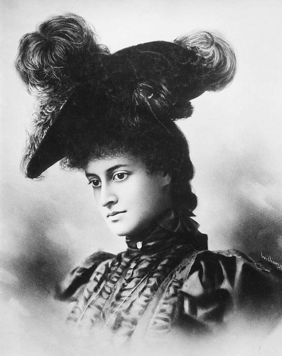 Каюлани в Сан-Франсиско, 1897 год. | Фото: fiveminutehistory.com.
