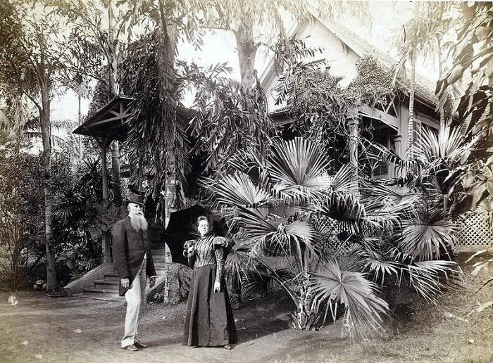 Родовое гнездо принцессы на Гавайях. | Фото: fiveminutehistory.com.