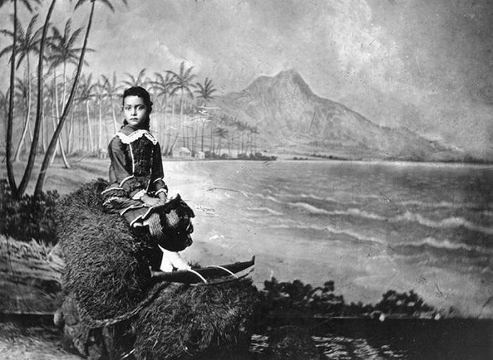 Каюлани в 6-летнем возрасте. | Фото: fiveminutehistory.com.