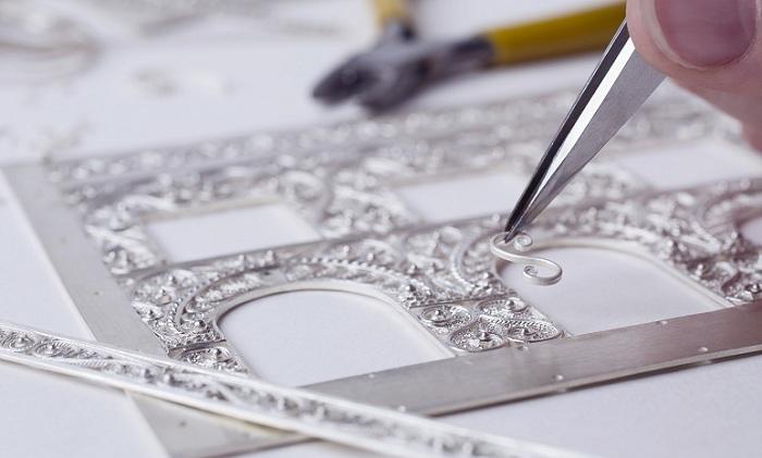 Процесс изготовления скани. | Фото: sokolov.ru.