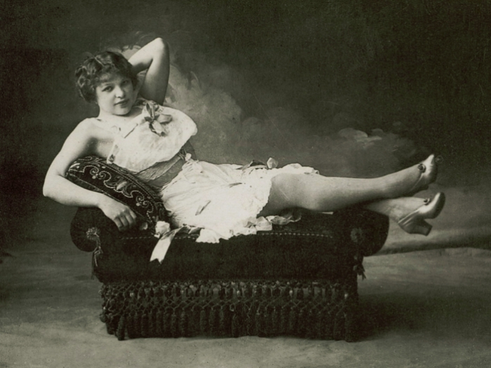Жрица любви времен викторианской эпохи. | Фото: april-knows.ru.