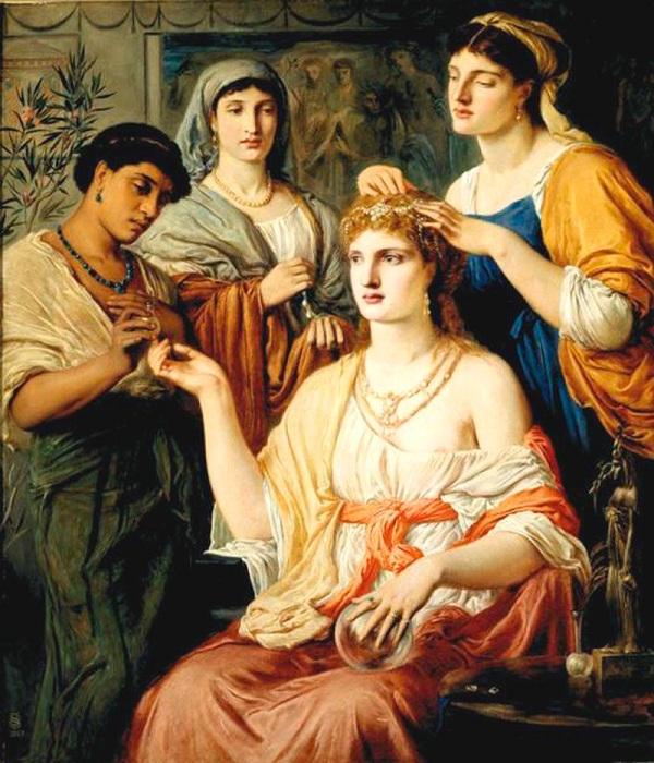 Римляне и греки использовали свинцовые белила. | Фото: wowlook.com.ua.