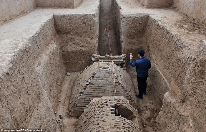 Уникальная археологическая находка, возраст которой не менее 2000 лет. | Фото: dailymail.co.uk.