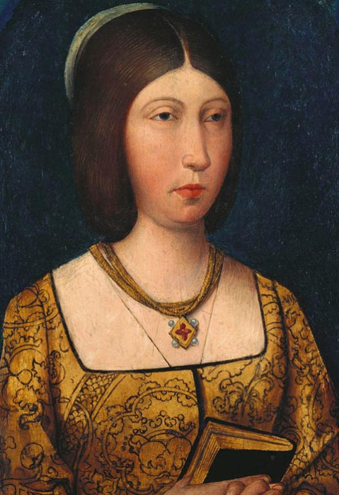 Изабелла Кастильская, ок 1485 г. | Фото: proxy12.media.online.ua.