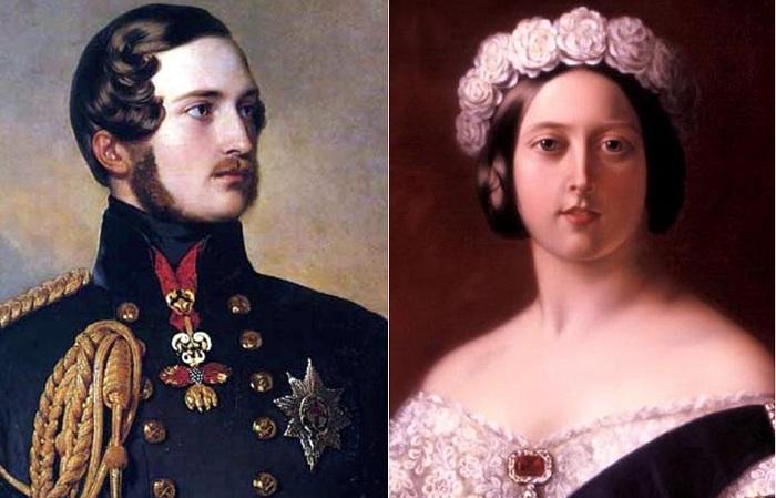 Принц-консорт Альберт и королева Виктория. | Фото: colors.life.