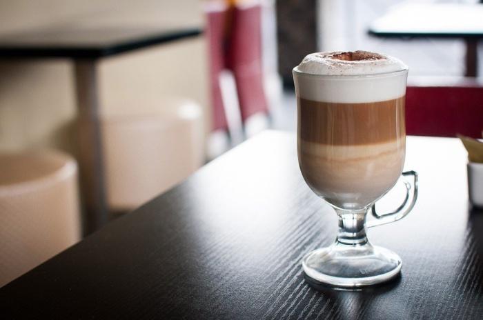 Латте макиато - кофе для детей.