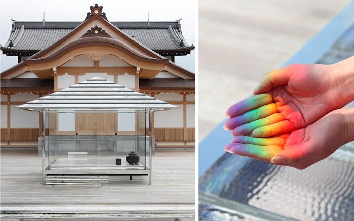 KOU-glass tea house - японский чайный домик.