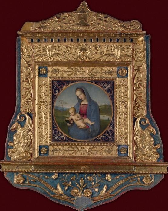 Мадонна Конестабиле. Рафаэль, ок. 1502-1504 гг. Государственный Эрмитаж. | Фото: hermitagemuseum.org.