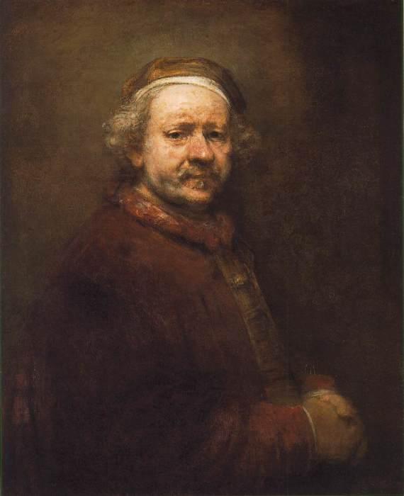 Автопортрет. Рембрандт Харменс ван Рейн, 1669 год. | Фото: rembr.ru.