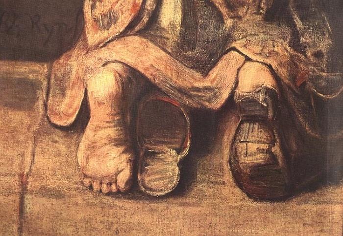 Возвращение блудного сына. Фрагмент. | Фото: 2.bp.blogspot.com.