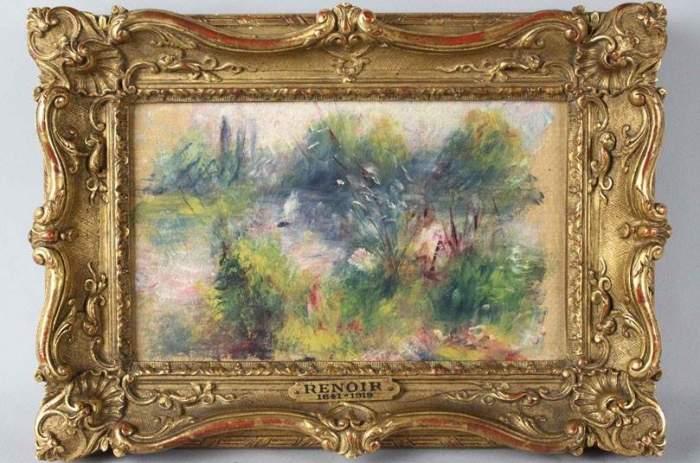 «Пейзаж на берегу Сены». Огюст Ренуар, 1879 год.   Фото: rai77.ru.