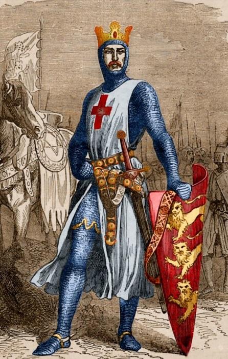 Ричард Львиное Сердце принимал участие в Третьем крестовом походе. | Фото: pre08.deviantart.net.