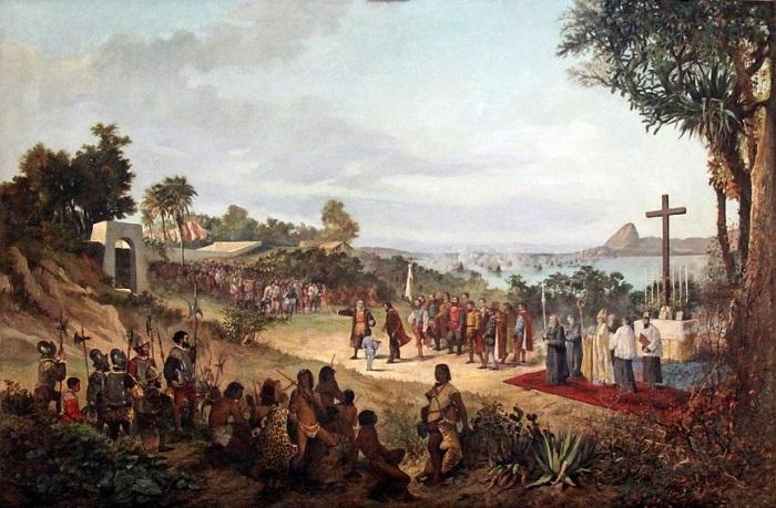 Рио-де-Жанейро был основан португальцами. | Фото: mixstuff.ru.