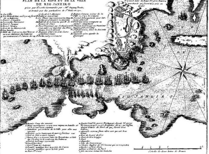 Рио-де-Жанейро в 1565 году. | Фото: warspot.ru.