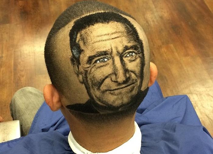 Работа парикмахера Roberto Perez.