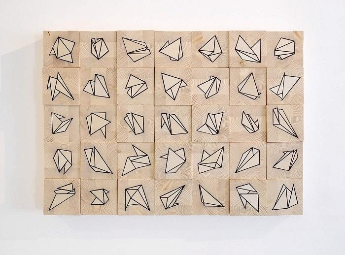 Геометрические формы от Rocco Pezzella.